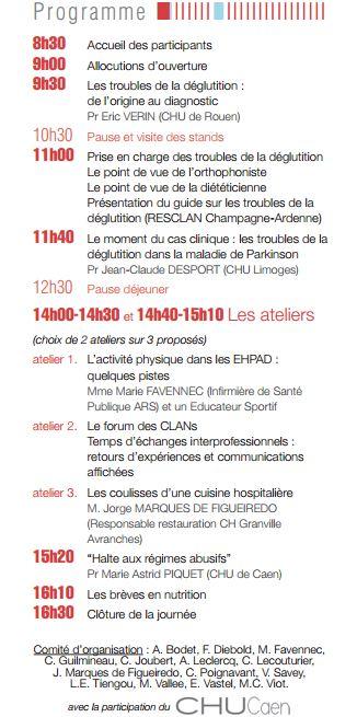 Programme jr 2014