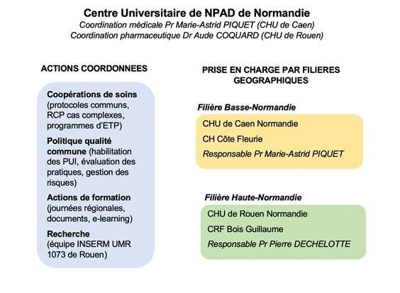 Structuration npad normandie